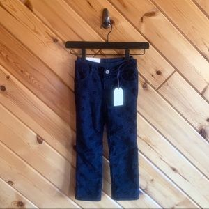 NWT Gap Kids Corduroy Skinny Star Pants 4 Girl